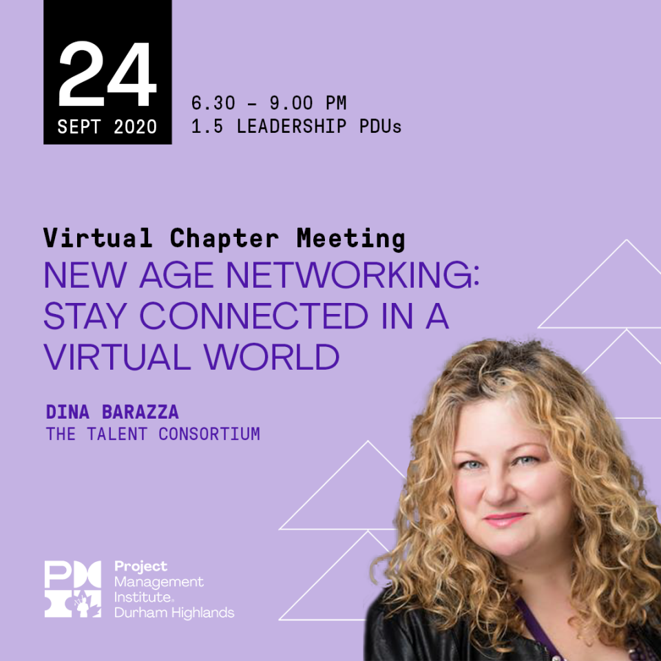 Learn More: Virtual Chapter Meeting, September 24, 2020