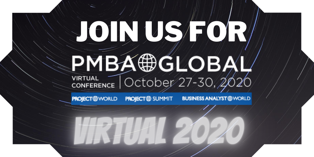 Join Us For PMBA Global Virtual Conference, October 27-30, 2020,