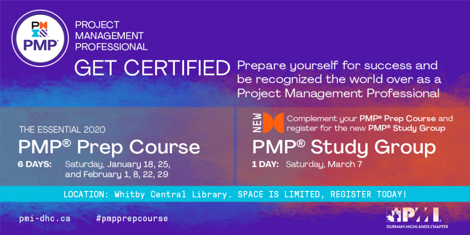 PMP Prep Course and PMP Study Group